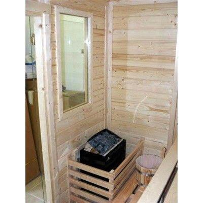 Afbeelding 5 van Azalp Saunaraam massieve sauna Genio 41x76 cm*
