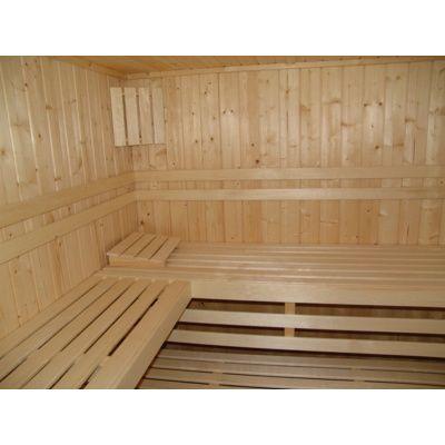 Afbeelding 8 van Azalp massieve sauna Alku 194x161 cm, 40 mm