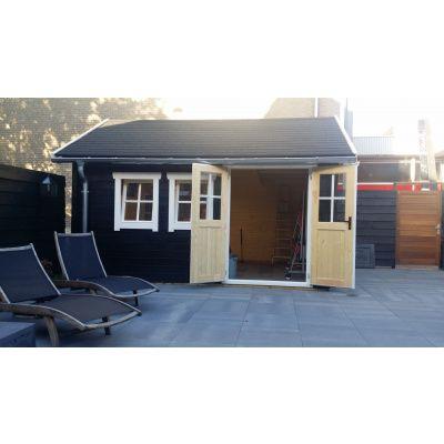 Bild 41 von Azalp Blockhaus Lynn 450x400 cm, 45 mm