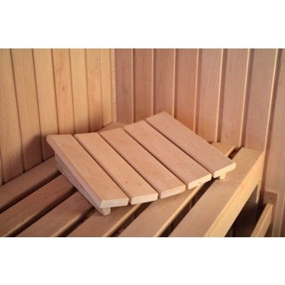 Afbeelding 3 van Azalp Deluxe Sauna Hoofdsteun elzen