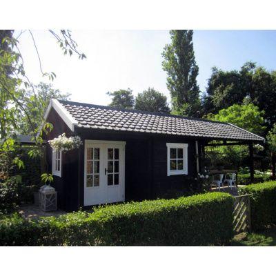 Bild 26 von Azalp Blockhaus Kinross 500x550 cm, 45 mm