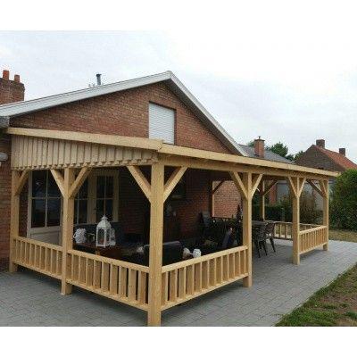 Bild 32 von Azalp Terrassenüberdachung Holz 500x300 cm