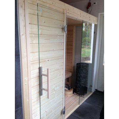 Afbeelding 22 van Azalp Sauna Luja 190x240 cm, 45 mm