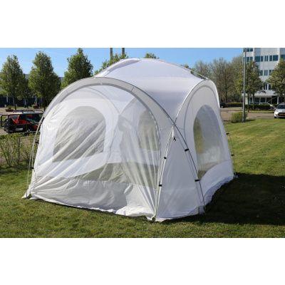 Afbeelding 2 van Orange Outdoor Iglo Dome tent 3.5x3.5m wit