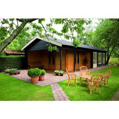 Afbeelding 40 van Azalp Blokhut, tuinhuisje of chalet op maat