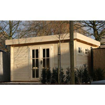 Bild 22 von Azalp Blockhaus Ingmar 350x400 cm, 45 mm