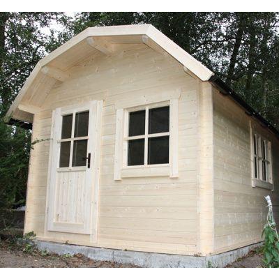 Bild 9 von Azalp Blockhaus Kent 350x400 cm, 30 mm