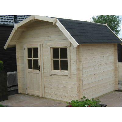Bild 27 von Azalp Blockhaus Kent 350x400 cm, 30 mm