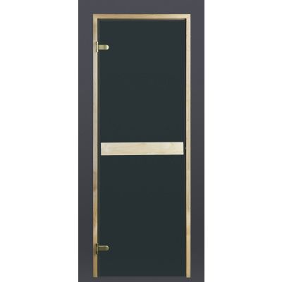 Hoofdafbeelding van Ilogreen Saunadeur Classic (Elzen) 69x199 cm, groenglas