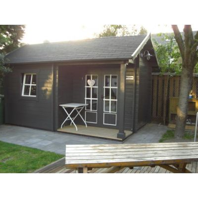 Afbeelding 18 van Azalp CLASSIC blokhut Cottage Style Kinross, 45 mm