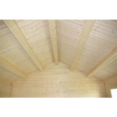 Afbeelding 23 van Azalp CLASSIC blokhut Cottage Style Cumberland 520x430 cm, 45 mm