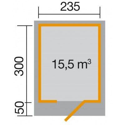 Afbeelding 2 van Weka Designhuis 172 Gr.2, 235x300 cm
