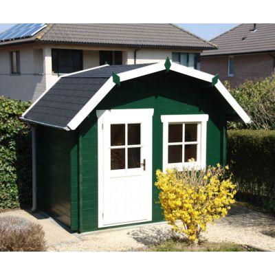 Bild 25 von Azalp Blockhaus Kent 250x250 cm, 30 mm