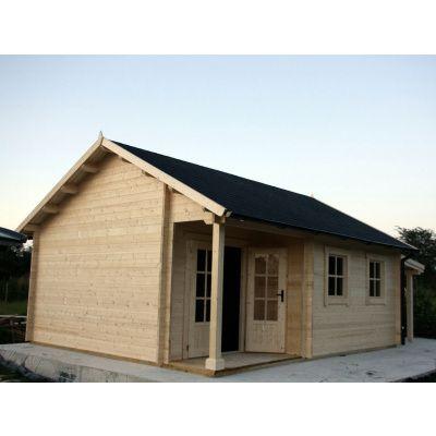 Afbeelding 19 van Azalp CLASSIC blokhut Cottage Style Cumberland 520x430 cm, 45 mm