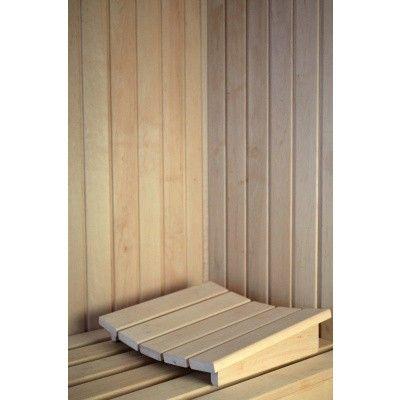 Afbeelding 4 van Azalp Deluxe Sauna Hoofdsteun elzen