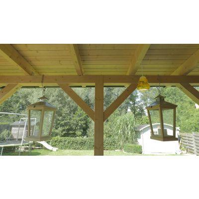 Afbeelding 29 van Azalp Houten veranda 350x250 cm
