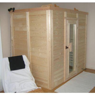 Afbeelding 21 van Azalp Massieve sauna Genio 240x230 cm, 45 mm