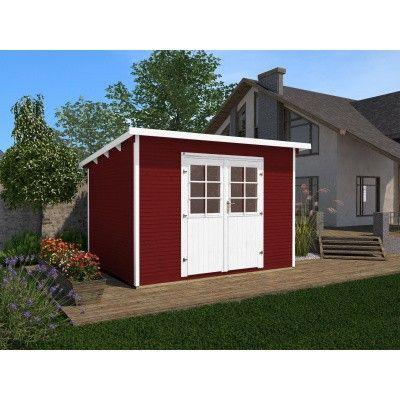 Hauptbild von Weka Gartenhaus 219 Gr. 3 Schwedisch rot