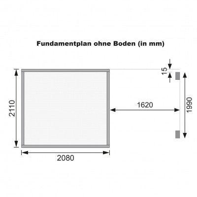 Afbeelding 10 van Karibu Merseburg 4 met veranda (68765)