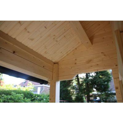 Afbeelding 48 van Azalp CLASSIC blokhut Cottage Style Cumberland 520x430 cm, 45 mm