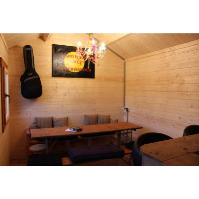 Bild 28 von Azalp Blockhaus Lis 350x350 cm, 30 mm