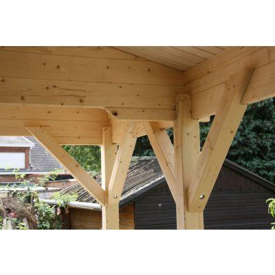 Bild 19 von Azalp Blockhaus Ben 650x650 cm, 60 mm