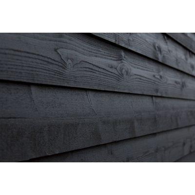 Afbeelding 2 van WoodAcademy Nobility Nero Tuinhuis 680x400 cm