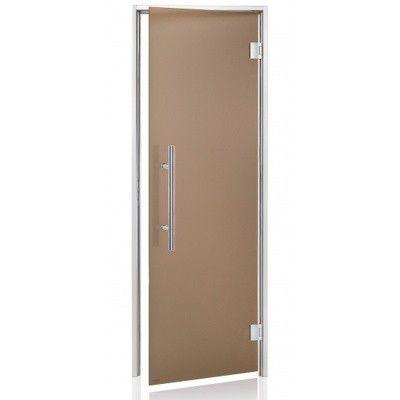 Hoofdafbeelding van Hot Orange Stoombad deur Au Premium 80x190 cm, mat brons
