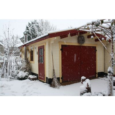 Afbeelding 26 van Azalp Garage Thijs 380x800 cm, 45 mm