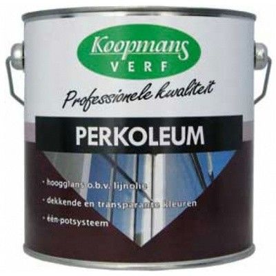 Afbeelding 14 van Koopmans Perkoleum, Lichteiken 232, 2,5L Hoogglans