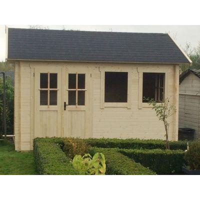 Bild 25 von Azalp Blockhaus Lynn 400x350 cm, 30 mm