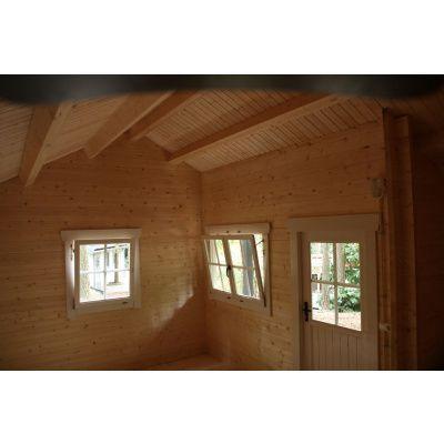 Bild 27 von Azalp Blockhaus Kirkwall 500x550 cm, 45 mm