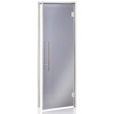 Hoofdafbeelding van Hot Orange Stoombad deur Au Lux 80x210 cm, grijs