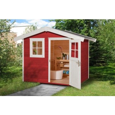 Hoofdafbeelding van Weka Tuinhuis 123 Gr. 2 Zweeds rood