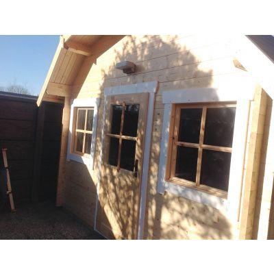 Bild 16 von Azalp Blockhaus Yorkshire 400x400 cm, 30 mm