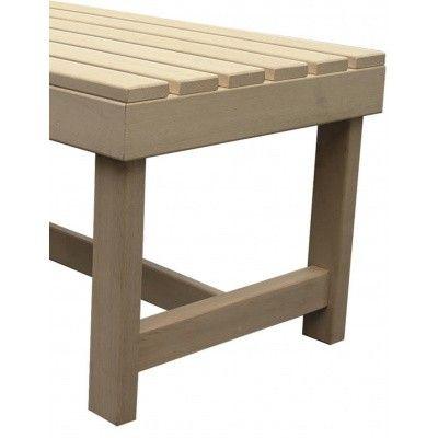 Afbeelding 3 van Azalp Saunabank vrijstaand verstelbaar, Abachi breedte 70 cm