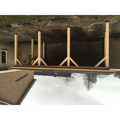 Afbeelding 22 van Azalp Houten veranda 300x300 cm