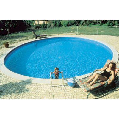 Afbeelding 2 van Trend Pool Ibiza 420 x 120 cm, liner 0,8 mm
