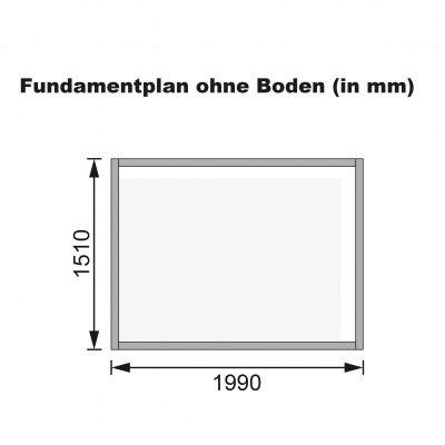 Afbeelding 9 van Karibu Glücksburg 3 (57734)