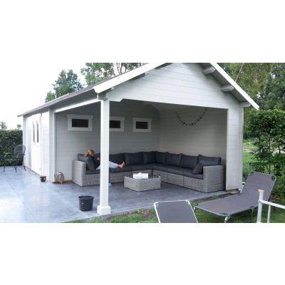 Bild 15 von Azalp Blockhaus Marnix 650x350 cm, 45 mm