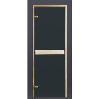 Hoofdafbeelding van Ilogreen Saunadeur Classic (Elzen) 79x209 cm, groenglas