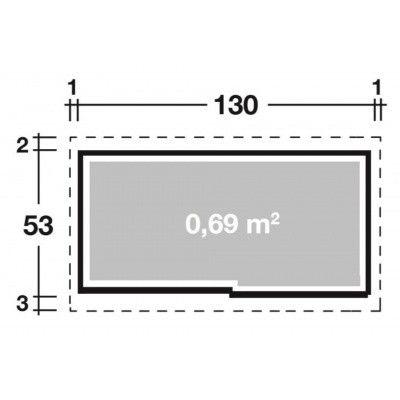 Afbeelding 2 van Wolff Premium Model 135 grijs