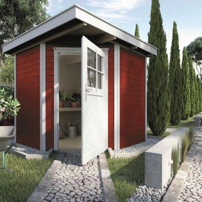 Hoofdafbeelding van Weka Tuinhuis 229 Gr. 1 Zweeds rood