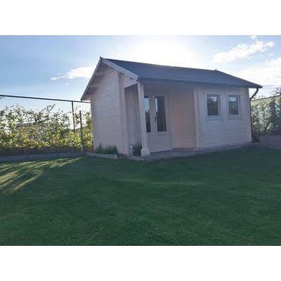 Afbeelding 58 van Azalp CLASSIC blokhut Cottage Style Cumberland 520x430 cm, 45 mm