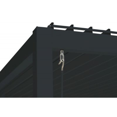 Afbeelding 5 van Porchenzo Barcelona 3x4 zwart
