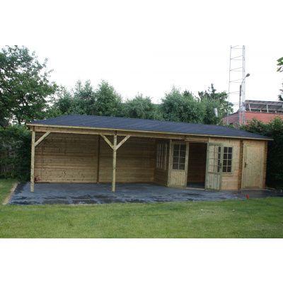 Bild 9 von Interflex Blockhaus 4355 Z, Seitendach 450 cm