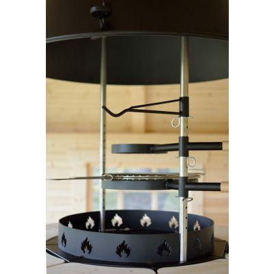 Afbeelding 7 van Azalp Grill met schoorsteen Groot*