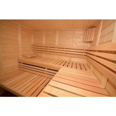 Afbeelding 30 van Azalp Sauna Luja 240x240 cm, 45 mm