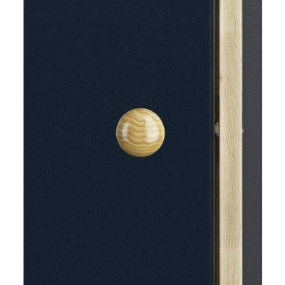Afbeelding 7 van Ilogreen Saunadeur Trend (Elzen) 189x69 cm, blauwglas