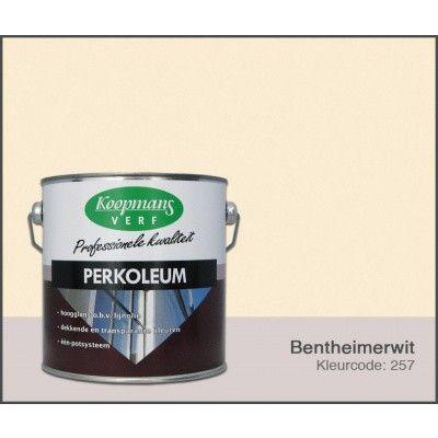 Hoofdafbeelding van Koopmans Perkoleum, Bentheimerwit 257, 2,5L Zijdeglans
